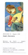 Vaticano - Urmet - Pinacoteca Vaticana - Angelo Musicante - Nuova - Validità 1.5.2000 - (FDC12016) - Vaticano