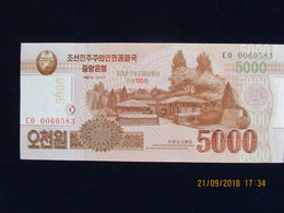 5000 Won CORÉE DU NORD 2013, Neuf, N'a Pas Circulé - Corée Du Nord