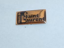 Pin's VILLE DE SAINT LAURENT DU MARONI - Cities