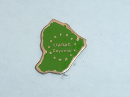 Pin's CEADAG, CAYENNE - Cities