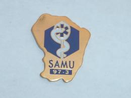 Pin's SAMU DE GUYANNE - Medical