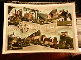 18880) VALLE D'AOSTA CHATEAUX VALDOTAINS CASTELLI VALDOSTANI VEDUTE VIAGGIATA 1959 - Italia