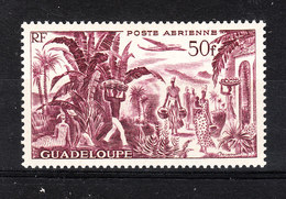 Guadalupa  -  1947. Piantagione Di Banane. Banana Plantation. MNH, Rare - Frutta