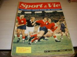 SPORT & VIE 33 02.1959 RUGBY FRANCE ECOSSE FOOT NIMES Le SPORT AMERICAIN - Sport