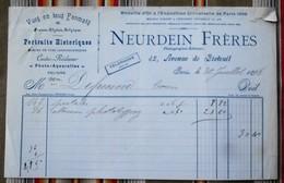 75 PARIS 7eme  NEURDEIN FRERES Photographes Editeurs - 1800 – 1899