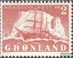 Dänemark - Grönland 36 MNH 1950 Arktisschiff - Nuovi