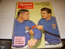SPORT & VIE 55 12.1960 FOOT KOPA UJLAKI SIMONSSON REAL MADRID RUGBY SPRINGBOKS - Sport
