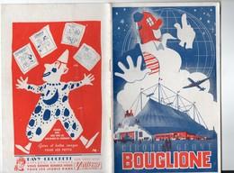 "PROGRAMME CIRQUE BOUGLIONE ""DAVY CROCKETT ET JIMMY BOY"" (c1962) (PPP9272) - Programs"