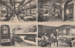 """18/9/492  -  LE  HAVRE  -  LOT  DE  16  CPA  DU  PAQUEBOT  """"  PARIS  """" De La Générale Transatlantique -Toutes Scanées - Postcards"""