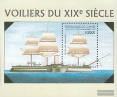 Guinea Block509 (complete Issue) Unmounted Mint / Never Hinged 1997 Warships - Guinea (1958-...)