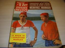 SPORT & VIE 89 10.1963 ATHLETISME JAZY BERNARD Les STATIONS De SKI GOTTVALLES - Sport