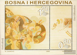 Bosnia-Herzegovina Block10 (complete.issue.) Unmounted Mint / Never Hinged 2000 Millennium - Bosnia And Herzegovina