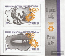 Bosnia-Herzegovina Block1 (complete.issue.) Unmounted Mint / Never Hinged 1994 Olympics Winter Games '84 - Bosnia And Herzegovina
