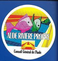 A.C.. Cons. Génér. AUDE Rivière Propre - Stickers