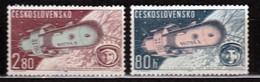 Czechoslovakia 1963 Mi 1413-1414 MNH - Tschechoslowakei/CSSR