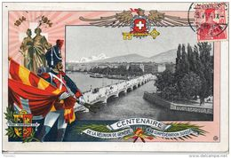 Suisse. Centenaire De La Reunion De Geneve à La Suisse - GE Geneva