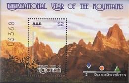Mikronesien Block 108 (completa Edizione) MNH 2002 Anno Il Montagne - Micronesië