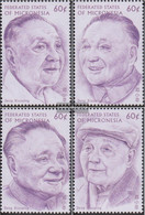Mikronesien 537-540 (complete Issue) Unmounted Mint / Never Hinged 1997 Death Of Deng Xiaoping - Micronesia