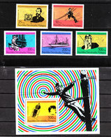 Madagascar  - 1988. Telephony Story. Bell, Centrale, Impianti Linee. Complete  Set  E BF  MNH - Telecom