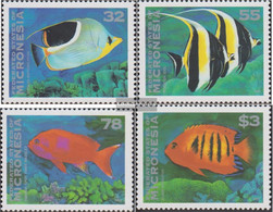 Mikronesien 418-421 (complete Issue) Unmounted Mint / Never Hinged 1995 Fish - Micronesia