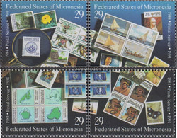 Mikronesien 371-374 (complete Issue) Unmounted Mint / Never Hinged 1994 Postal Independence - Micronesia