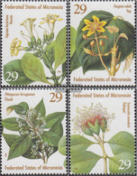Mikronesien 365-368 (complete Issue) Unmounted Mint / Never Hinged 1994 Flora - Micronesia