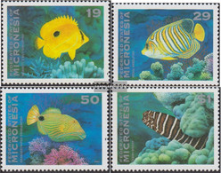 Mikronesien 273-276 (complete Issue) Unmounted Mint / Never Hinged 1993 Fish - Micronesia