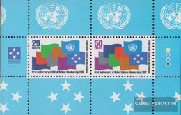 Mikronesien Block11 (complete Issue) Unmounted Mint / Never Hinged 1992 1 Year UN Membership - Micronesia