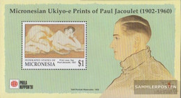 Mikronesien Block10 (complete Issue) Unmounted Mint / Never Hinged 1991 Stamp Exhibition - Micronesia