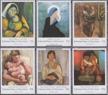 Mikronesien 671-676 (kompl.Ausg.) Postfrisch 1998 Weihnachten Gemälde - Micronesia