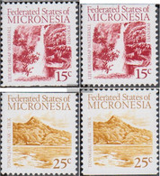 Mikronesien 89Do,You-90Do,You Unmounted Mint / Never Hinged 1988 Attractions - Micronesia