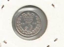 Monnaie, Grande Bretagne , Great Britain , 3 Pence, Argent , Silver , 1886 - 1816-1901 : Frappes XIX° S.