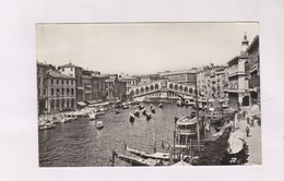 CPA PHOTO VENISE, PONTE DI RIALTO (voir Timbre) - Venezia (Venice)