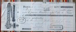 75 PARIS 10e Rue De Bondy  37 TOURS  1889 - Imprimerie & Papeterie