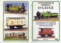 Catalogue CONNOISSEUR MODELS O Gauge 2003-2004 Kits Issue 11 - Boeken En Tijdschriften
