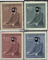 Bohemia And Moravia 85-88 (complete Issue) With Hinge 1942 Birthday - Bohemia & Moravia