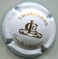 CAPSULE-CHAMPAGNE COMTE DE LAVIGNY N°02x Blanc & Or-NR - Champagnerdeckel