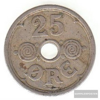 Denmark Km-number. : 823 1940 Extremely Fine Copper-Nickel Extremely Fine 1940 25 Öre Gekröntes Monogram - Denmark