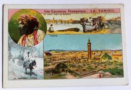 Chromo Bon Point école La Tunisie Série Les Colonies Françaises Tunis Bizerte - Chromos
