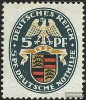 Deutsches Reich 398Y Usato 1926 Emergenza - Gebraucht