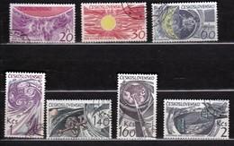 Czechoslovakia 1965 Mi 1515-1521 CTO - Tschechoslowakei/CSSR