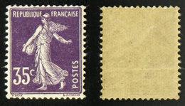 N° 142 35c Violet SEMEUSE TB Neuf N* Cote 9€ - 1903-60 Sower - Ligned