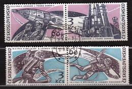 Czechoslovakia 1965 Mi 1529-1532 CTO - Tschechoslowakei/CSSR