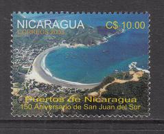 2003 Nicaragua San Juan Del Sur Complete Set Of 1 MNH - Nicaragua