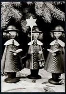 B7258 - TOP Glückwunschkarte Weihnachten - Kurrende - Kaiser & Sohn Freital - Noël