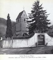 1969 - Iconographie -  Sainte-Marie-aux-Mines (Haut-Rhin) - L'église - FRANCO DE PORT - Non Classés