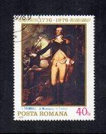 """ROMANIA - 1976 - Francobollo Tematica """" Arte - Quadri """" - Usato - (FDC12024) - Arte"""