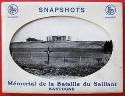 Carnet De 10 Vues Bastogne Memorial De La Bataille Du Saillant NELS THILL - Bastogne