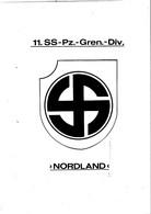 WW2 WAFFEN SS 11.PANZER GRENADIER DIVISION NORDLAND PHOTOKOPIEN  ON CD 68 PAG. PIONIER KAMERADSCHAFT - Altri