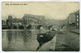CPA - Carte Postale - Belgique - Huy - La Citadelle Et Le Pont  ( SV5607 ) - Huy